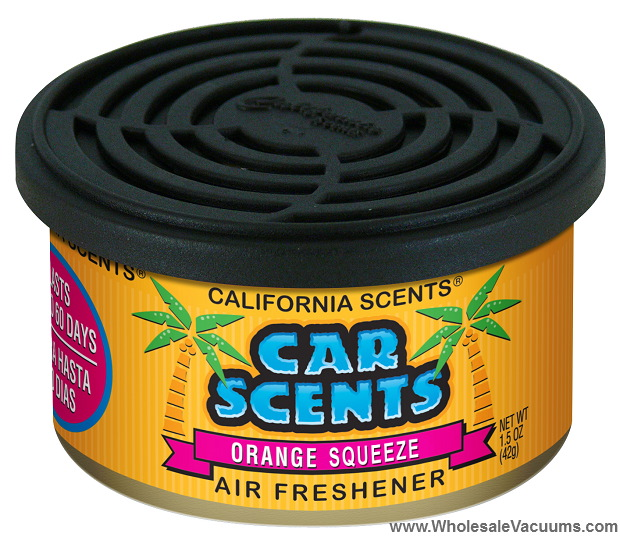 Orange Blossom Car Scents was orange squeeze